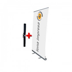 Roll up con lona 100 x 200 cm