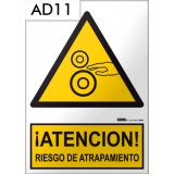 Señal de advertencia AD11