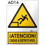 Señal de advertencia AD16