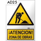 Señal de advertencia AD25