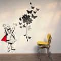 Vinilo Banksy Super girl