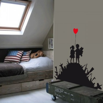 Vinilo Banksy Us and them