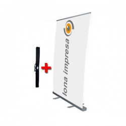 Roll up con lona 150 x 200 cm