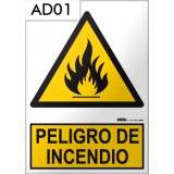 Señal de advertencia AD01