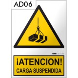 Señal de advertencia AD06