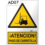 Señal de advertencia AD07