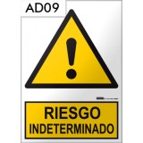 Señal de advertencia AD09