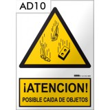 Señal de advertencia AD10