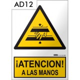 Señal de advertencia AD12