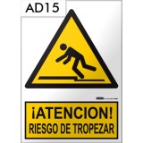 Señal de advertencia AD15
