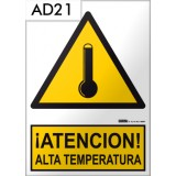 Señal de advertencia AD21