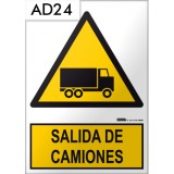 Señal de advertencia AD24