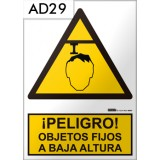 Señal de advertencia AD29